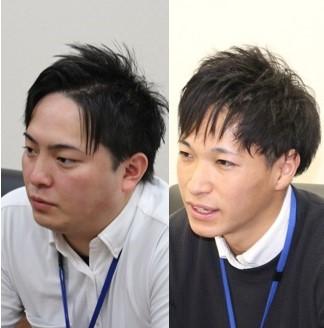 福永さん&立山さんお顔