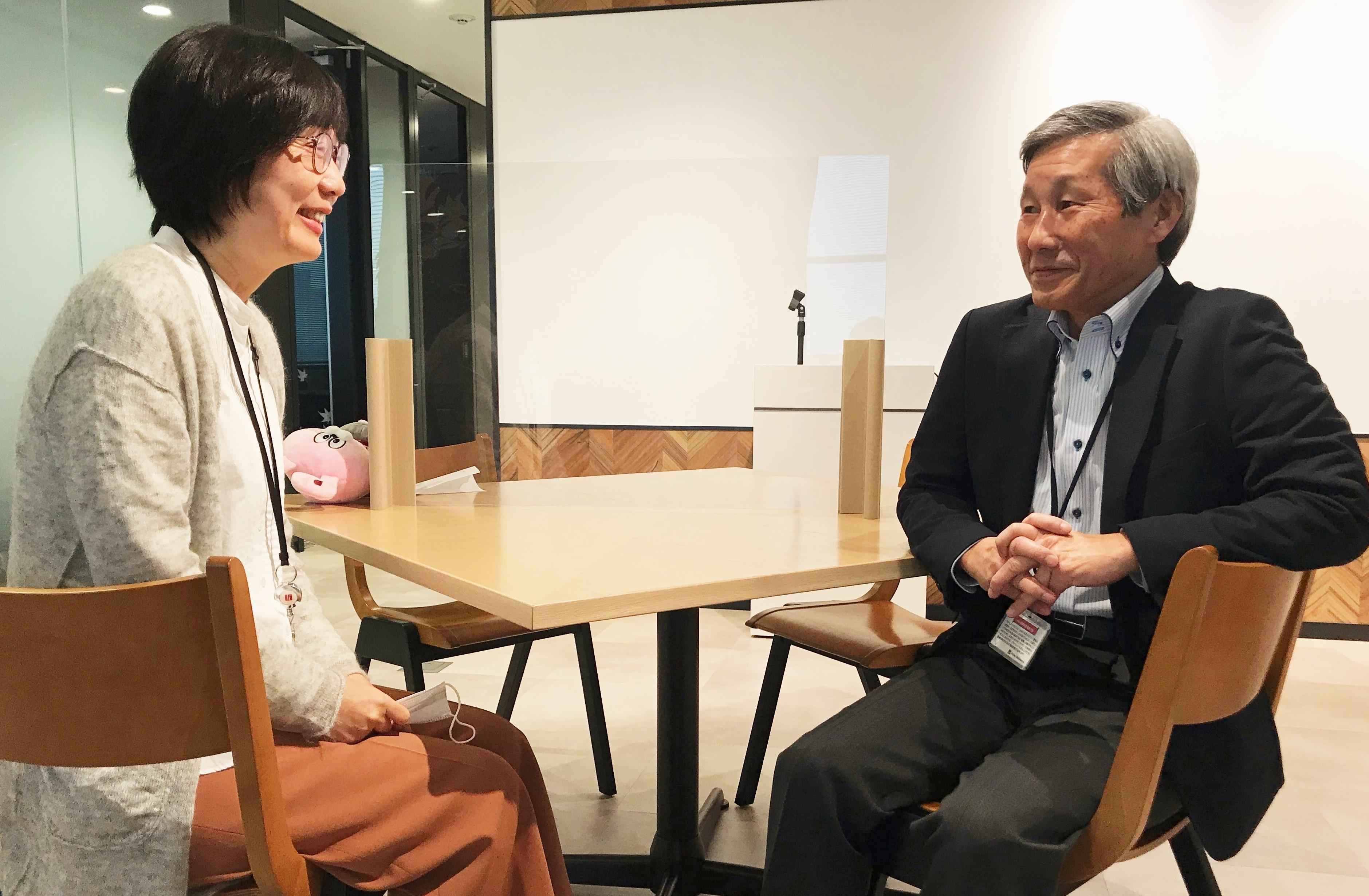 谷川さんと国崎さん