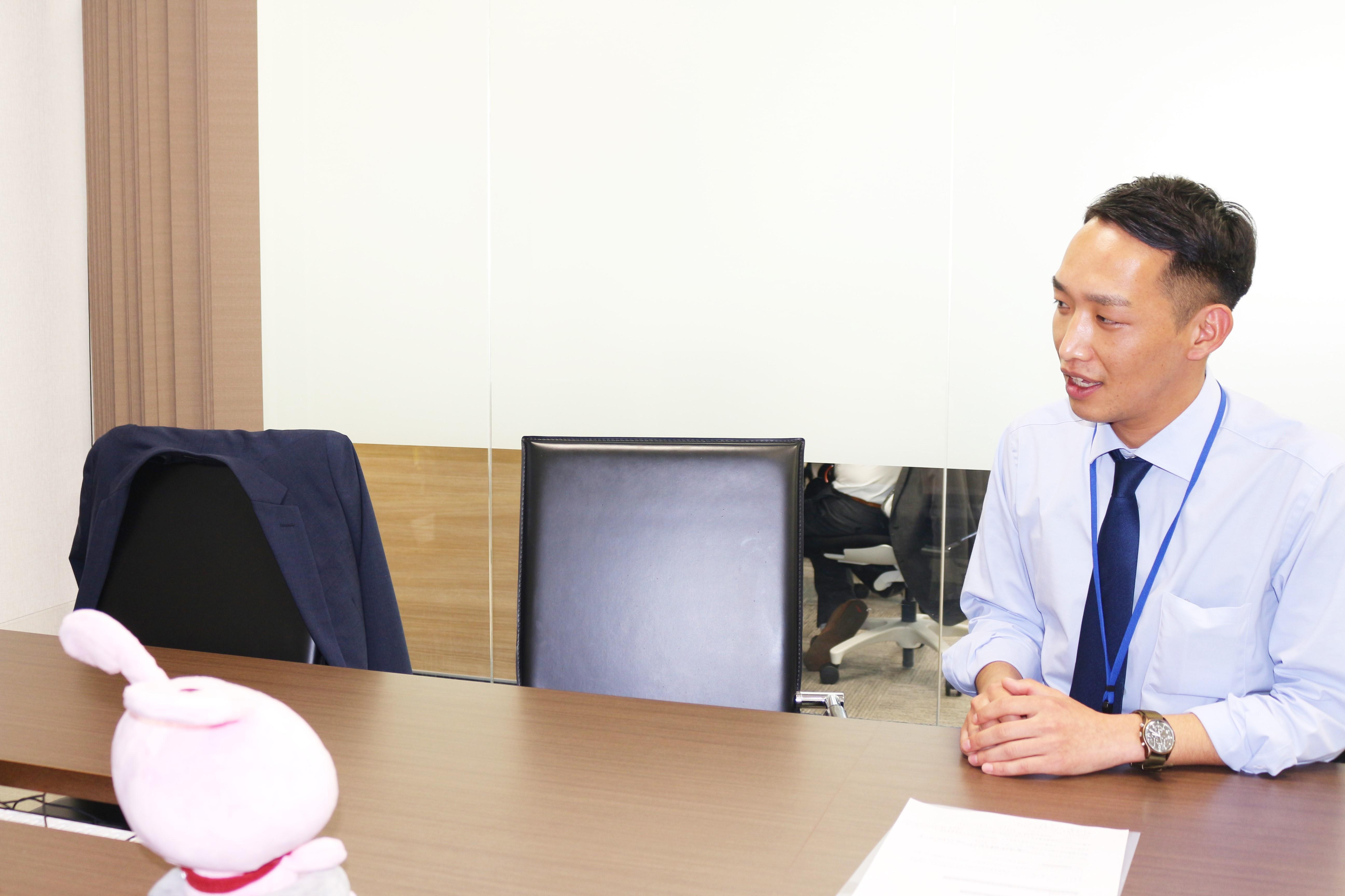 インタビュー・坂口さん