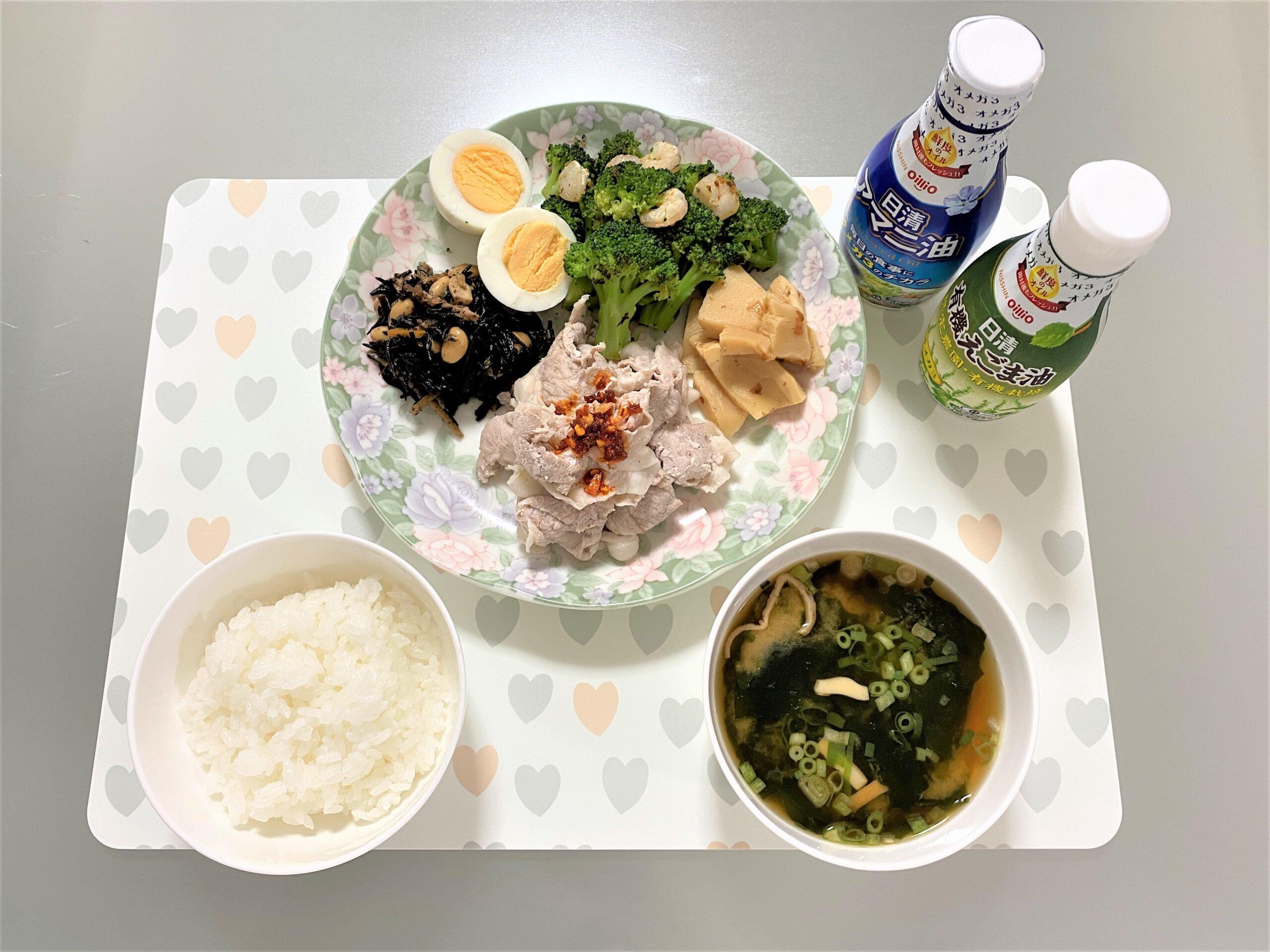 山田さんの食事例